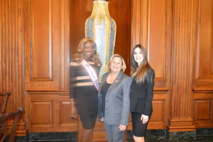 Immigration Lawyer Maithe Gonzalez With Congresswoman Ileana Ros-Lehtinen